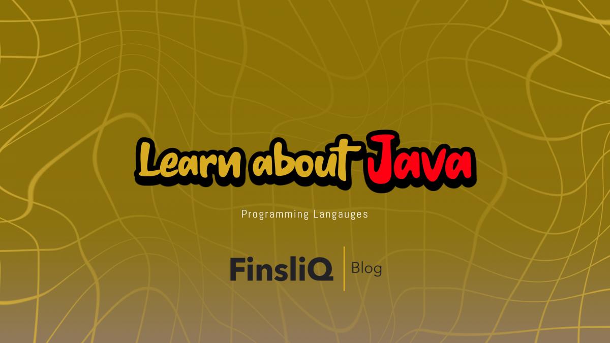 Learn about Java Programming Language