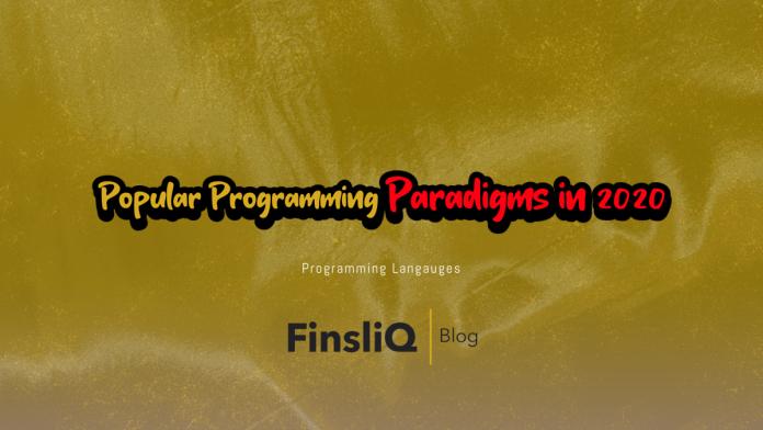 Popular Programming Paradigms in 2020