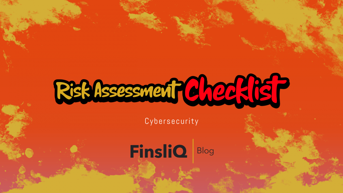 Cybersecurity risk assesment checklist