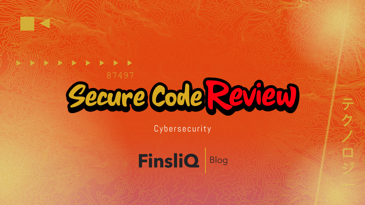 Cybersecurity secure code review