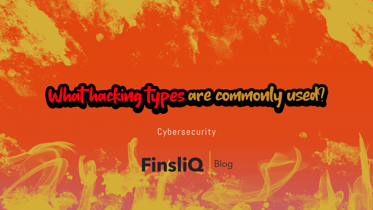 What hacking types are commonly used