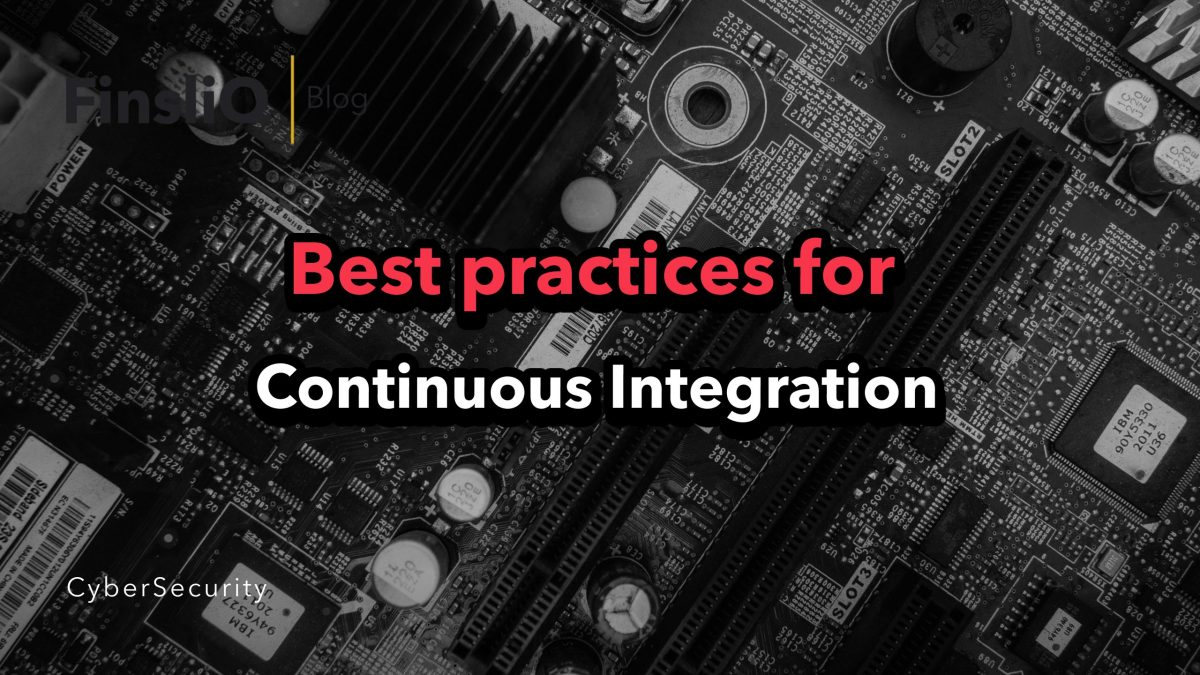 best practices for continuous integration