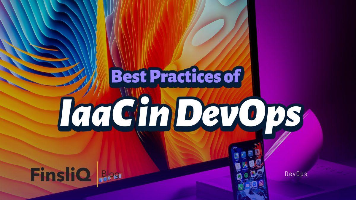 practices of infrastructure as code in devops