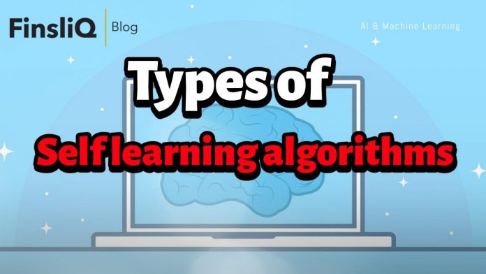 What are the types of Self learning algorithms
