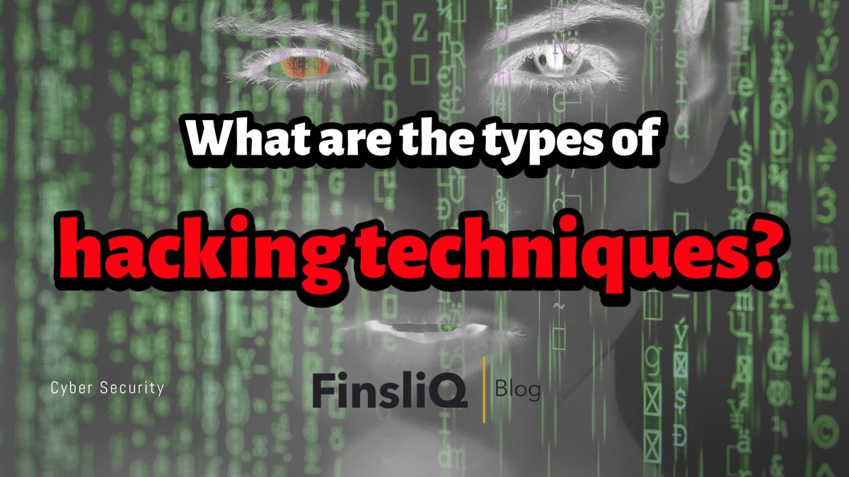 What are the types of hacking techniques